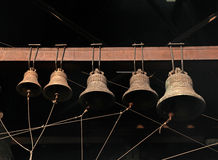 Old orthodox bells closeup at monastery Royalty Free Stock Photography