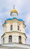 Old orthodox cathedral of All Saints in historical town Chernigov Stock Images