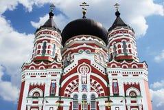 Old orthodox cathedral in Feofaniya Royalty Free Stock Photos