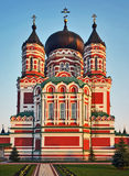 Old orthodox cathedral Stock Photos