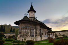 Old Orthodox Church. A picture of an old orthodox church located in Sucevita, Romania Stock Photography