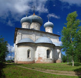 Old orthodox church in Belozersk Royalty Free Stock Photos