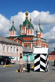 Old orthodox church. Brusensky monastery. Kremlin in Kolomna, Russia. Stock Photo