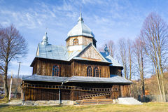 An old Orthodox church in Chmiel, Bieszczady Mountains Stock Photography