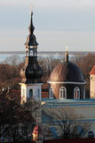 Old orthodox church dome in Tallinn Stock Photography