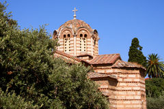 Old orthodox church - Greece Stock Photo