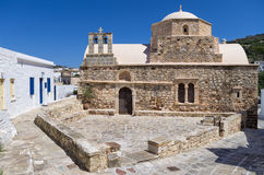 Old Orthodox church in Kimolos island, Cyclades, Greece Royalty Free Stock Images
