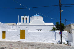 Old Orthodox church in Kimolos island, Cyclades, Greece Royalty Free Stock Image