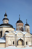Old orthodox church in Kirillov, Russia Royalty Free Stock Images