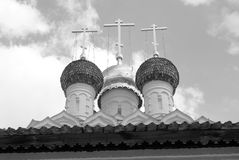 Old orthodox church. Kremlin in Kolomna, Russia. Royalty Free Stock Photos