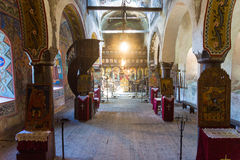 The old Orthodox church in Lovech in Bulgaria stock photography