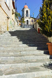 Old orthodox church in old town of Xanthi, East Macedonia and Thrace Royalty Free Stock Photography