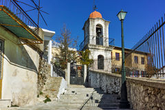 Old orthodox church in old town of Xanthi, East Macedonia and Thrace Royalty Free Stock Photos
