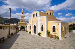 Old orthodox church in Paleochora, Crete, Greece Stock Images