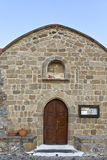Old orthodox church at Rhodes, Greece Royalty Free Stock Photos