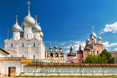 Old Orthodox church in Rostov, Russia Stock Photography