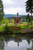 Old orthodox church in Sokolowsko, Poland Stock Image