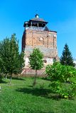 Old orthodox church tower on a summer day Stock Photography