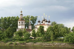 Old orthodox church in Vologda, Russia Stock Photo