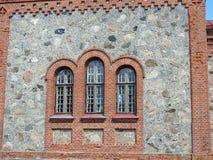 Old orthodox church wall , Latvia Royalty Free Stock Photography