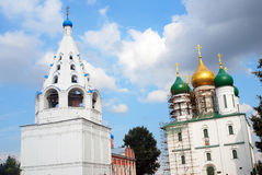 Old orthodox churches. Kremlin in Kolomna, Russia. Stock Images
