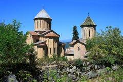 Old orthodox Gelati monastery Stock Photos