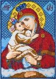 Old orthodox icon Stock Photography