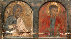 Old orthodox icons Stock Image