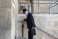 An old orthodox Jew man Royalty Free Stock Photos