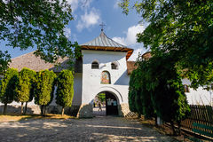 Old orthodox monastery from Polovragi Royalty Free Stock Photo
