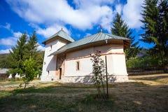 Old orthodox monastery from Polovragi Stock Photography