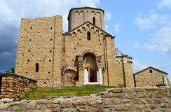 Old Orthodox monastery in Serbia. The old Orthodox monastery in Serbia stock images