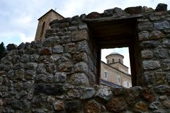 Old Orthodox monastery in Serbia. The old Orthodox monastery in Serbia stock image