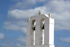 Old orthodox tower stock images