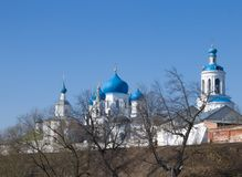 Old orthodoxy temple. Is in Bogolyubovo from Russia Royalty Free Stock Photos