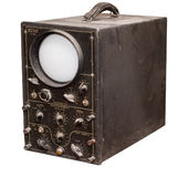 Old oscillograph Royalty Free Stock Images