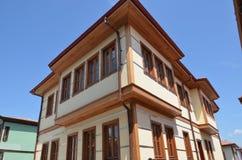 Old ottoman house. Eskisehir turkish old villa Royalty Free Stock Photos