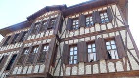 Old ottoman house. Goynuk bolu house Royalty Free Stock Photos