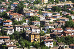 Old Ottoman houses in Safranbolu, Karabuk, Turkey Royalty Free Stock Images