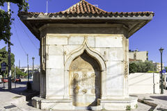 Old Ottoman Melek Pasha fountain in Chios Stock Image