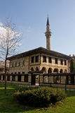 Old ottoman mosque. Courtyard of the old ottoman mosque in tetovo stock image