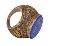The old Ottoman ring from Anatolia Royalty Free Stock Photo