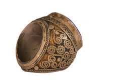 The old Ottoman ring from Anatolia Royalty Free Stock Photography