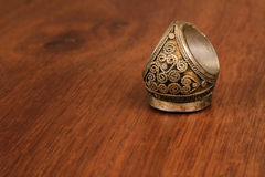 The old Ottoman ring from Anatolia Stock Images