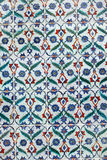 Old Ottoman Tiles Stock Photo