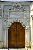 Old Ottoman wooden door. Old ottoman architecture wooden door Istanbul Turkey Stock Photography