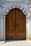 Old Ottoman wooden door Stock Images