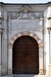 Old Ottoman wooden door. Old ottoman architecture wooden door Istanbul Turkey Royalty Free Stock Photography