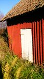 Old outbuilding in Norway royalty free stock photos