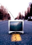 Old Outdated Television Stock Photos
